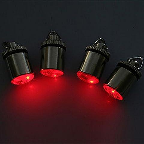 Lampeggiante Lampada di pesce Lure Mini LED subacquea goccia Pesca Squid Luce - Deep Water Lampada