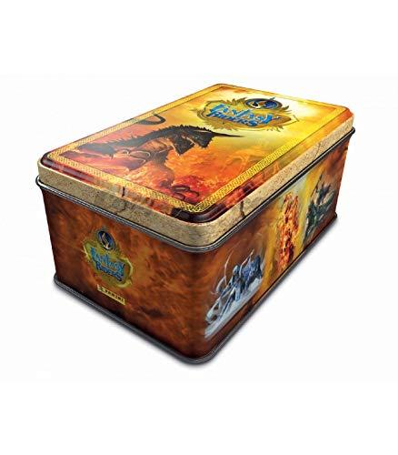 Panini- Tin Box Trading Cards Fantasy Riders