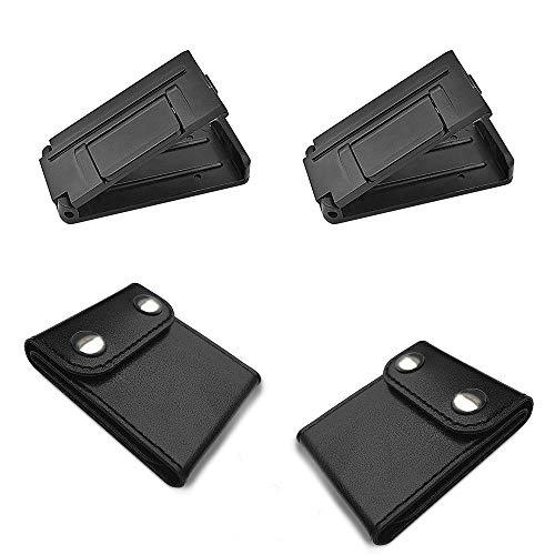 ManLee 4pz Ajustador de Cinturón de Seguridad Clip de Cinturón de Seguridad...
