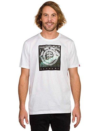 Element Herren T-Shirt Flow Optic White