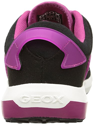 Geox Asteroid G B, Baskets Basses Fille Multicolore (C0922)