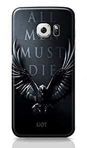 Loister All Men Must Die Mobile Cover Compatible for Samsung Galaxy S6 Edge Printed Designer Cover