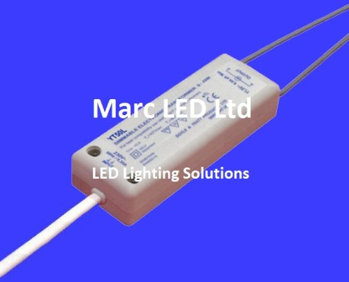 105W Varilight Dimmable Low Volt Electronic Transformer YT105L Load 0-105W - for 12VAC LED Lights and LV-Halogen; Elektronisch Dimmbar Transformator, Trafo -