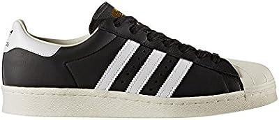 Zapatillas adidas - Superstar negro/blanco/dorado talla: 40-2/3