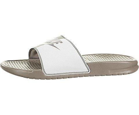 Nike - Benassi - Tongs - Homme - Noir (Sepia Stone/Summit White 201) - 47.5