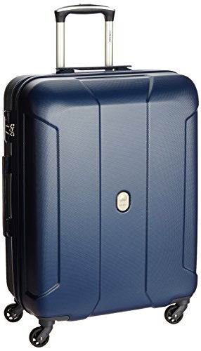 Delsey Cineos Hard 66Cm Night Blue Check-In Trolley Luggage (00357881002T9)