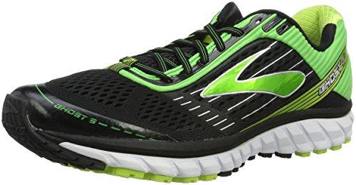 Brooks Ghost 9, Zapatillas de Running Para Hombre, Mehrfarbig (schwarz