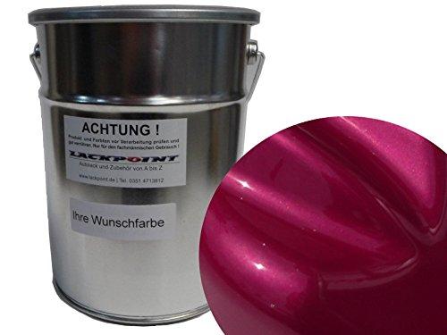 0,5 Liter Spritzfertigen Basislack Candy Pink Metallic Autolack Tuning Trendlack -