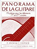 Panorama de la guitare vol 1 : 75 pièces pour les débutants 1ère et 2ème années