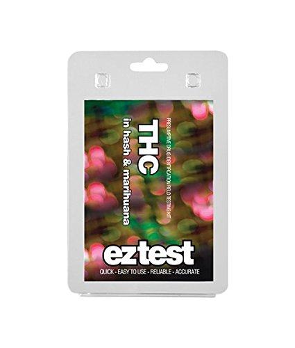 EZ Test THC - Drogentest: Ein schneller und einfacher Test, um die Anwesenheit von THC in Haschisch, Marihuana, Haschisch-Öl und ähnlichen Produkten zu testen. - (1 Test) - PatchouliWorld - Deutscher Händler - Versand aus Deutschland - 100% Service & Qualität!