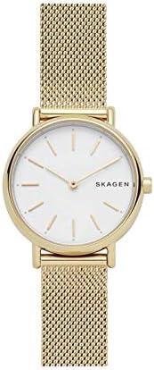 ساعة يد للنساء بمينا باللون الفضي وسوار من الستانلس ستيل وعرض انالوج من سكاجين - SKW2693