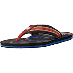 Woodland Men's Black Flip Flops Thong Sandals - 10 UK/India (44 EU)