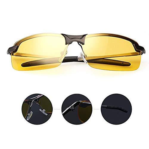 beste Nachtfahrbrille Blendschutz-Sonnenbrille für Männer Frauen Nachtfahrten Reduzieren Sie das Risiko
