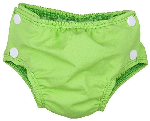 Preisvergleich Produktbild Popolini Badewindel Schwimmwindel Green Grün L (large) 8-15 kg