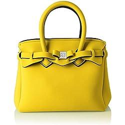SAVE MY BAG - Petite Miss, Bolsos de mano Mujer, Amarillo (Rabat), 26x23x13 cm (W x H L)