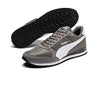 Puma St Runner V2 Mesh Gri BEYAZ Erkek Sneaker Ayakkabı