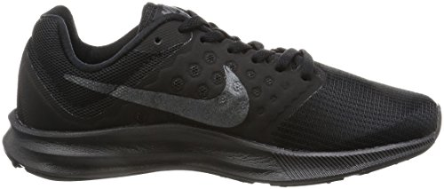 Nike Wmns Downshifter 7, Chaussures de Course Femme Noir (Black / Metallic Hematite / Anthracite)