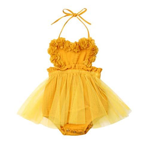 Overall Baby Sommer Newborn Girl Straps Tulle Romper Dress Lace Sleeveless Belt Bodysuit Summer