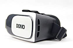 DOMO VR9 nHance VR Headsets for Apple iPhone, Samsung, One plus One, Sony, Xiaomi Red MI, Nokia, Motorola, HTC, ASUS, LeTV, Coolpad, Huawei, Lenovo, LG and all other Smart Phones upto 6