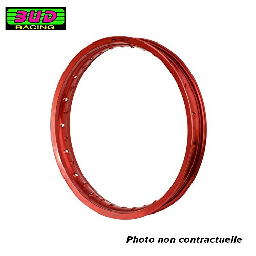 BUD RACING Jante 1.40 x 19-32 Trous/Rouge
