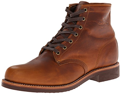Chippewa Mens 1901G26 Tan Leather Boots 8 UK Chippewa Service Stiefel Männer