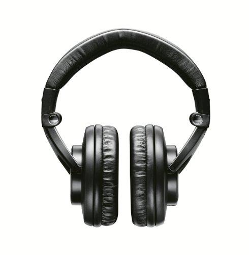 Shure SRH840, geschlossener Kopfhörer / Over-ear, schwarz, Premium, Referenz-/Studiokopfhörer, geräuschunterdrückend, faltbar, Kabel austauschbar, Frequenzgang (Bässe, Mitten, Höhen) präzise angepasst - 2