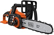 BLACK+DECKER Cordless Power Chainsaw, POWERCONNECT Series, 18 V, 25 cm, Lightweight, Battery not Included, Ora