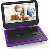 "Best Dvd Players Portables - COOAU Upgraded Portable DVD Player 12.5"" with HD Review"