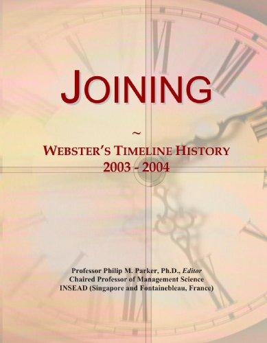 Joining: Webster's Timeline History, 2003-2004
