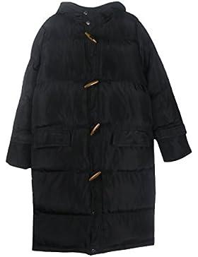 Giubbotto Giubbotto Donna DFUCF Giacca Invernale Cotone Top Top Modellino Caldo Spessore Nero Bianco Inverno