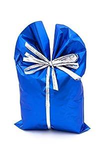 ItalpakSobres de Regalo Metalizados Soft,  50 piezas, Azul, 20x35cm