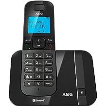 AEG Voxtel D550BT - Teléfono fijo digital, negro