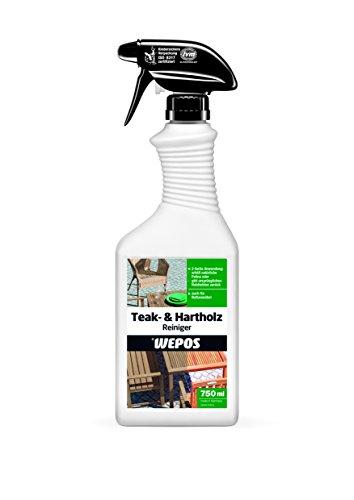 Wepos 2000300855 Teak- und Hartholz Reiniger 750 ml