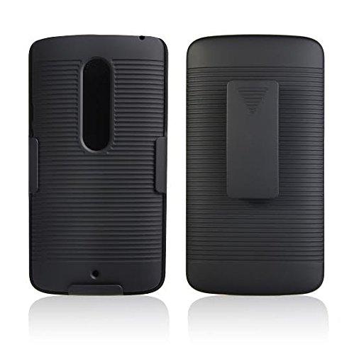 Theresastrading Moto G 2nd Gen Case, Moto G2 Holster case, Hybrid Shell Holster Combo Protective Case with Belt Clip Holster For Moto G 2nd Gen (2014)