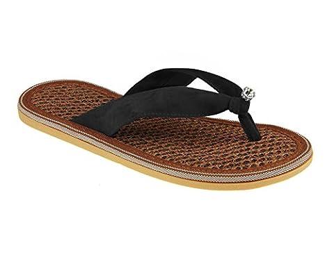 Women's Fashion Summer Flip Flops Slim Causal Leisure Wedge Platform