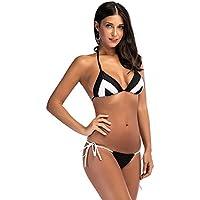 L'Europe et les États-Unis explosion modèles bikini maillot de bain sexy bicolore dames bikini maillot de bain CUIYAN