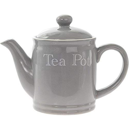 Grey Classic Kitchen Range Ceramic Tea Pot