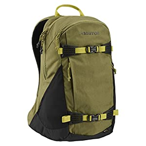 Burton Day Hiker 25L Daypack, Olive Drab Cotton Cordura, One Size