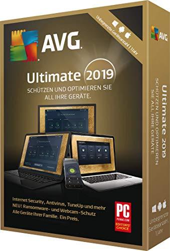 AVG Ultimate 2019 unbegrenzt / 1 Jahr 2019 Unbegrenzt / 1 Jahr 12 Monate PC, Laptop, Tablet, Handy Download Download