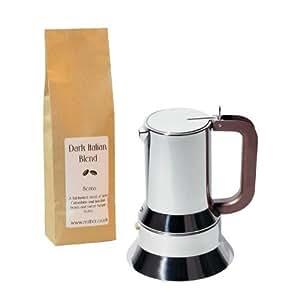 Alessi Moka Espressokocher 3 Tassen, Von Richard Sapper