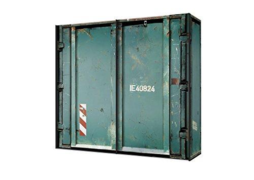 Express Möbel Schwebetürenschrank 2-türig Cargo Motvdruck BxHxT 200x216x68 in verschiedenen Farben und Größen