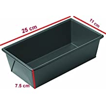 Royals Loaf pan, bread mould Non Stick Carbon Steel Baking Tray 25 cm (Pack of 1)