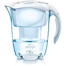 BRITA Elemaris - Jarra con filtro de agua 2.4 L, color blanco