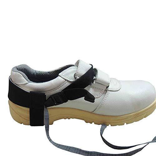Allpax ESD Dauerfersenband mit Klettverschluss - für Normale Straßenschuhe - Elastische Ausführung - für längere Zeit anwendbar