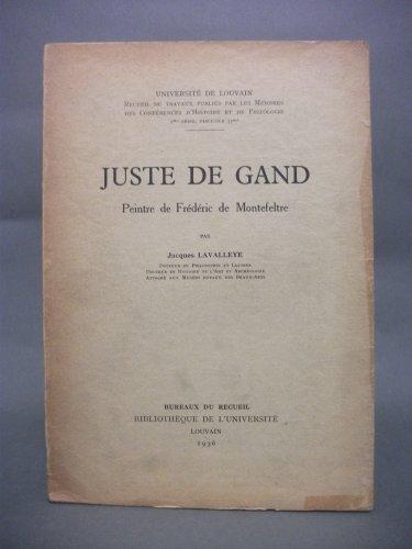 Juste de Gand, peintre de Frdric de Montefeltre, par Jacques Lavalleye