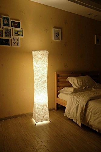 Gimify - Lámpara de pie de tela lavable para el hogar, sala de estar