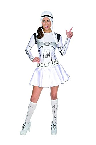 Star Wars sexy Damen Kostüm Lady Stormtrooper - Womens Star Wars Kostüm