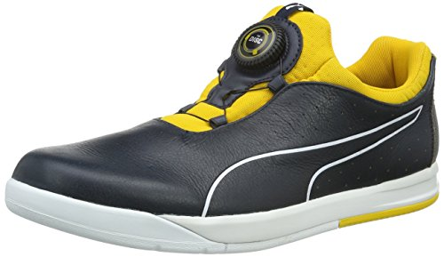 Puma Herren Irbr Disc Sneakers Blau (total eclipse-total eclipse-spectra yellow 01)