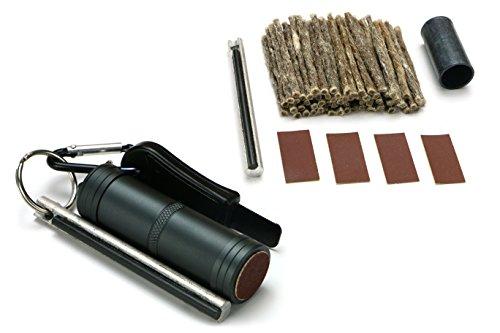 Polymath Products EDC Fire kit & recharge Bundle – fiable, facile à transporter kit pour feu d'éclairage dans toutes les conditions. Sangle.