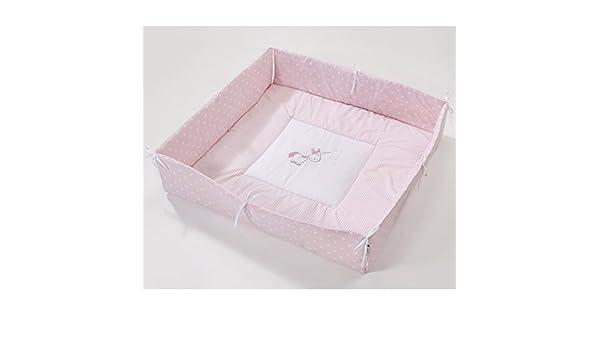 75x100 cm unicorn rose NEU Easy-Baby Laufgittereinlage universal 100x100